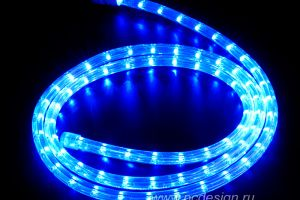 Подсветка дюролайт синяя 240руб.