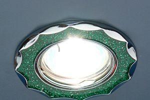 612А Зеленый блеск хром 210руб.